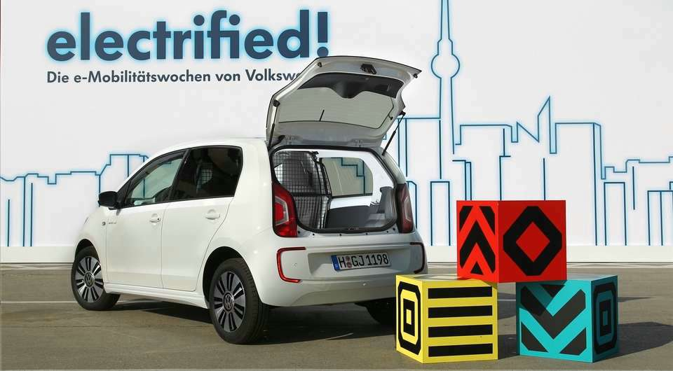 Volkswagen e-load up! Малыш переходит на электричество