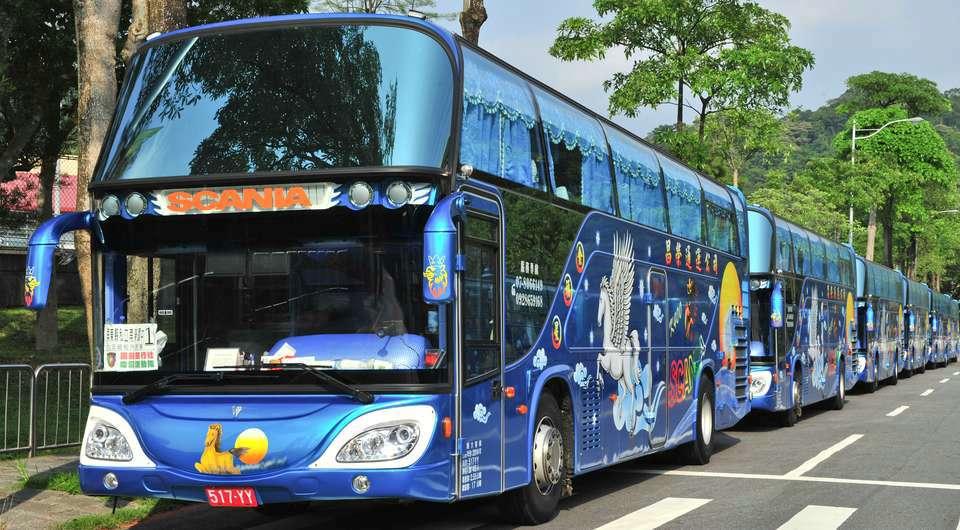 Scania. 200 шасси на Тайвань