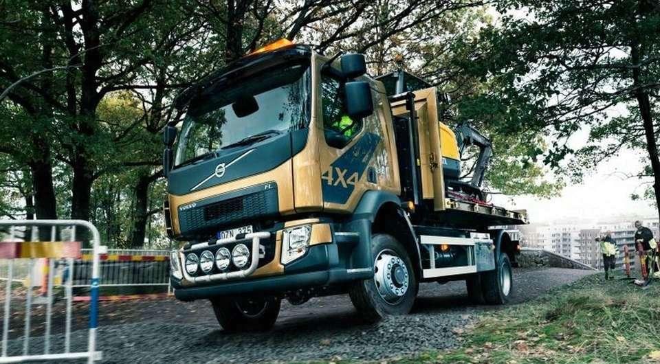 Volvo FL. Вариант повышенной проходимости