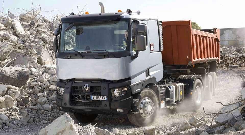 Renault серии «C». Теперь – с системой OptiTrack