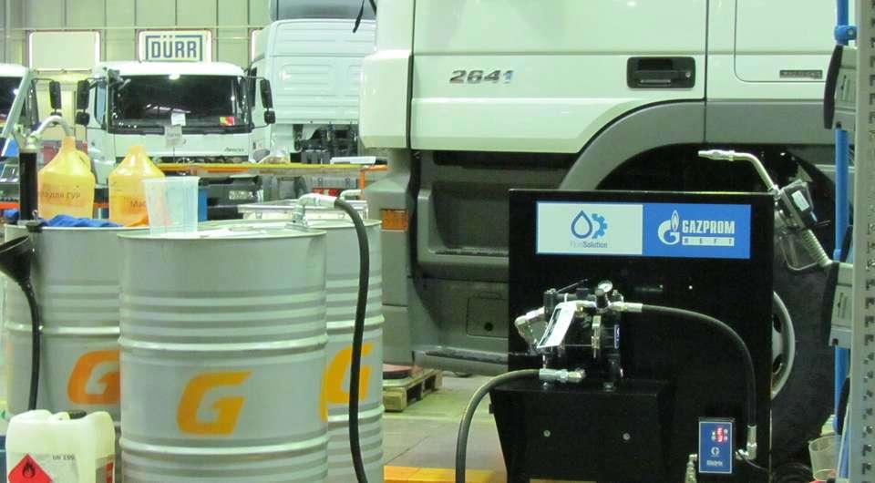 Масло «Газпромнефть» в грузовиках Mercedes-Benz