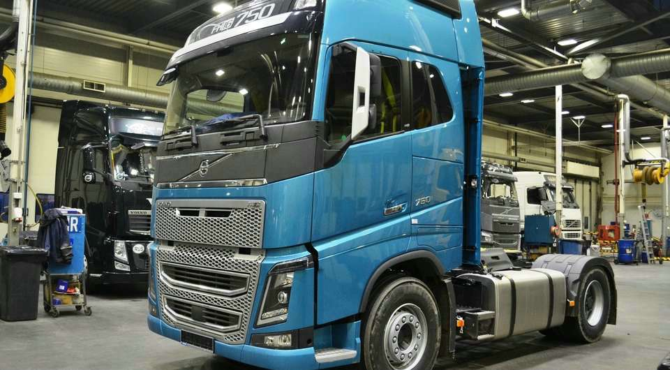 Volvo в 750 «лошадок». Есть первая российская поставка!