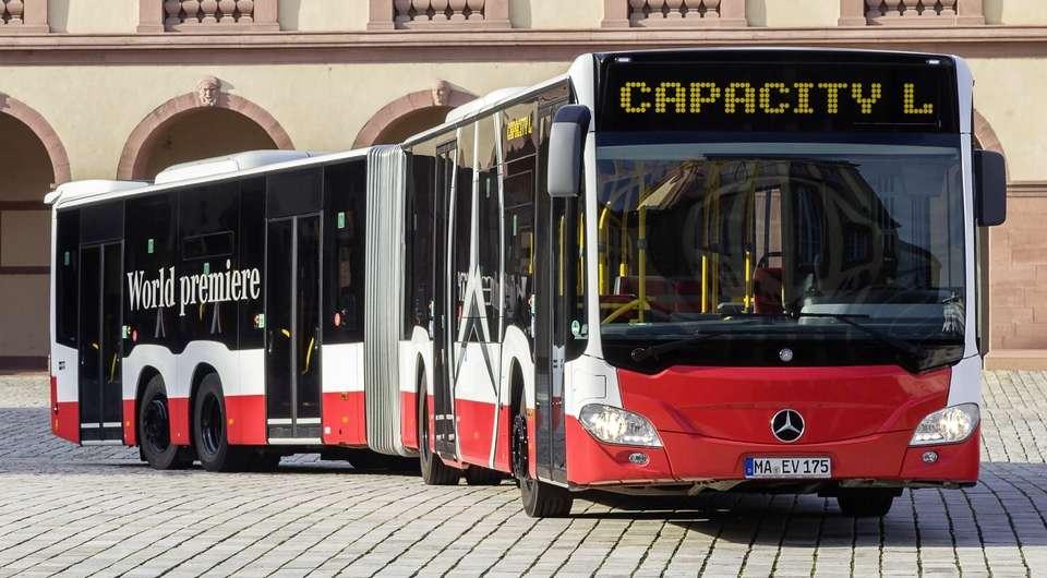 Mercedes-Benz CapaCity L. Длиннее, еще длиннее!