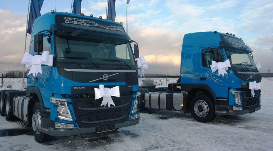 Газодизельные Volvo прибыли на Урал