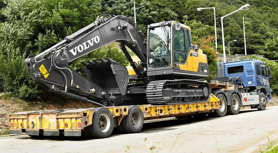 Volvo EC170D. Новый малоразмерный
