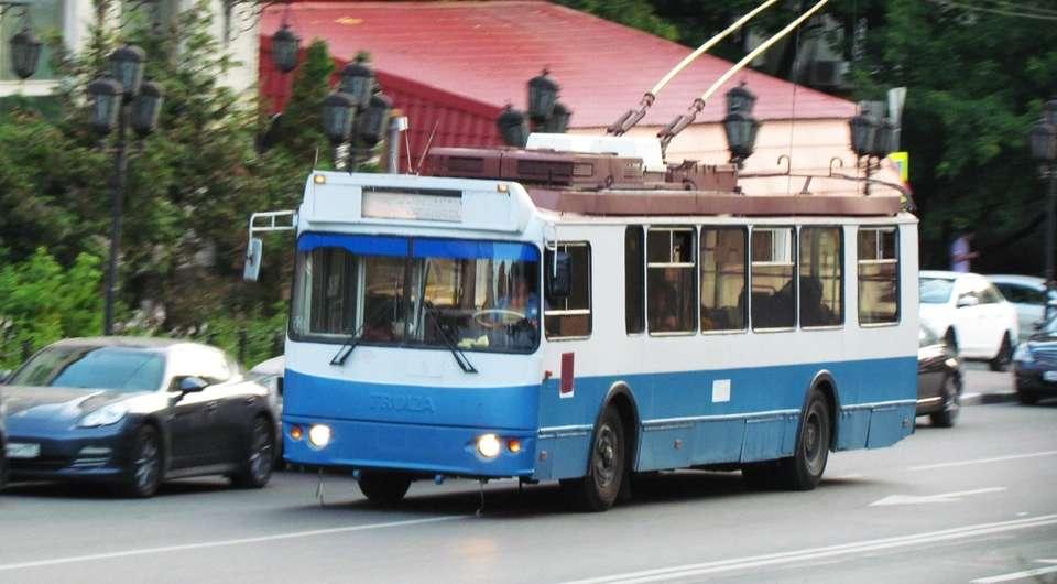 Курган без троллейбусов