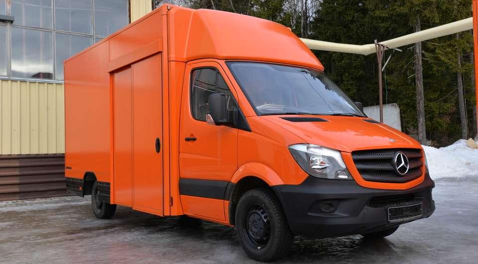 Фургоны «Мосдизайнмаш» для компании BORK