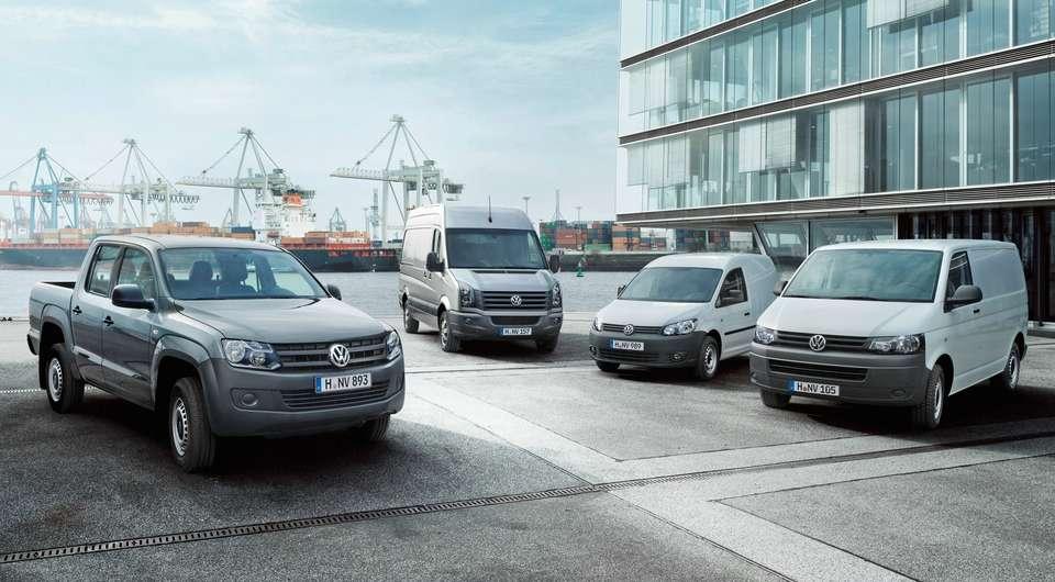Volkswagen Коммерческие автомобили. Итоги 2014