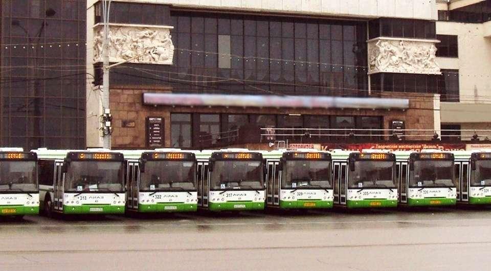 ЛИАЗ-529260. Полсотни автобусов в Ростов-на-Дону