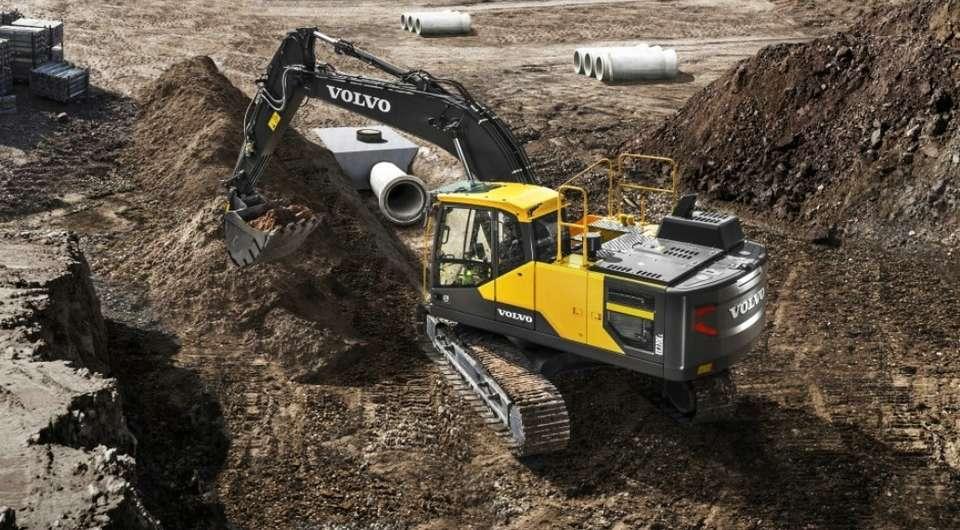 Volvo EC220E. Экскаватор наращивает характеристики
