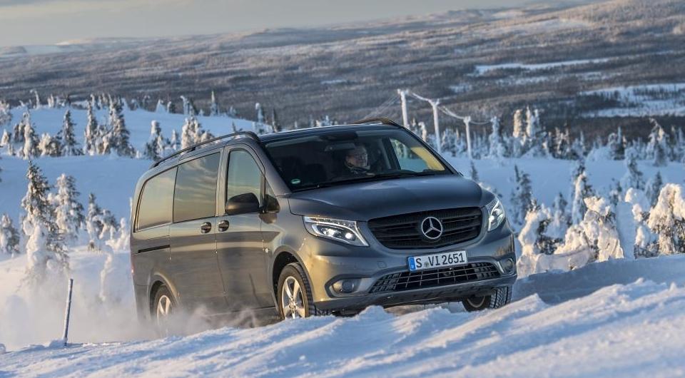 Mercedes-Benz V-класса: теперь на полном приводе