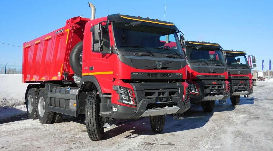 Volvo FMX. Новые контракты в России