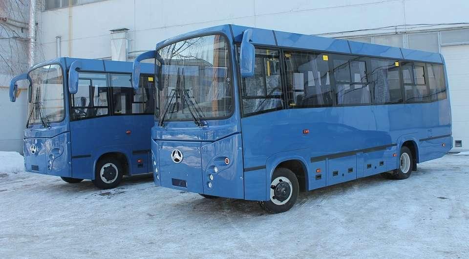 БАУ-РУС. Первые автобусы для Казахстана