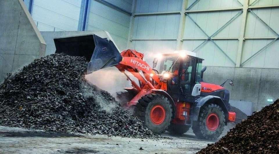 Hitachi против голландского мусора