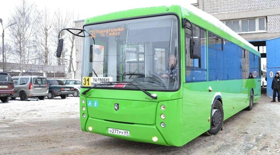 НЕФАЗ поставил автобусы в Тверь