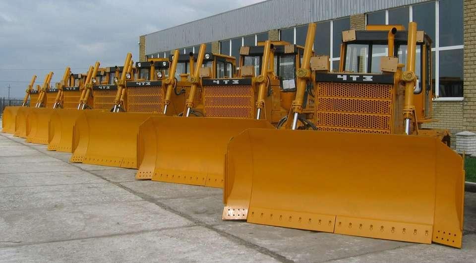 Челябинские тракторы для компании «Алроса»