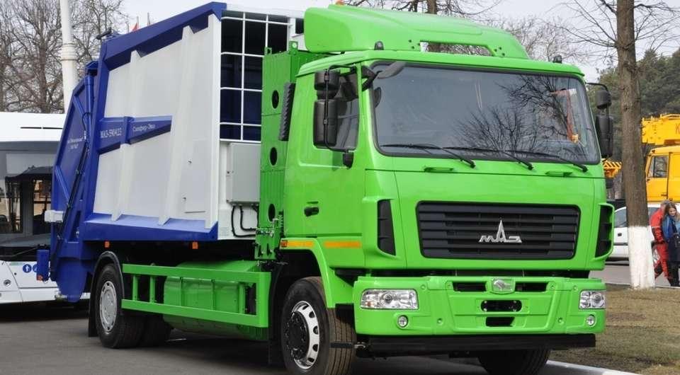 МАЗ-590423-010. Перспективный газовый мусоровоз