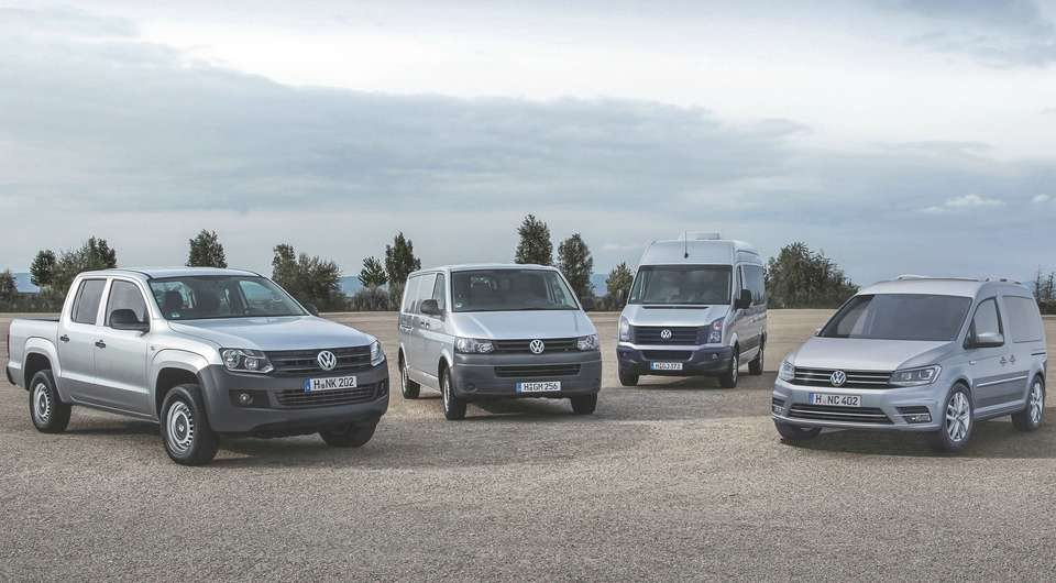 Volkswagen Commercial: Квартальный подсчет