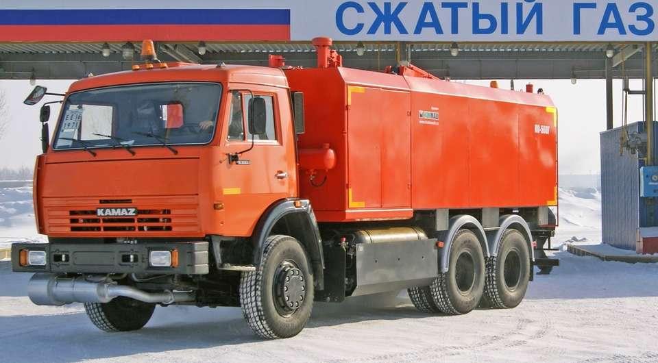 КАМАЗ открыл собственное производство газовых автомобилей