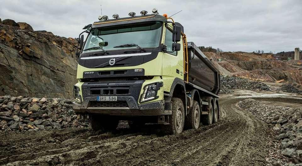 Volvo Trucks. Полный привод с автоматическим подключением