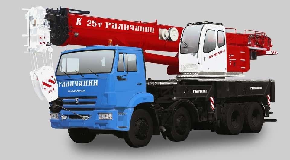 «Галичанин»: 25-тонник с рекордной высотой подъема