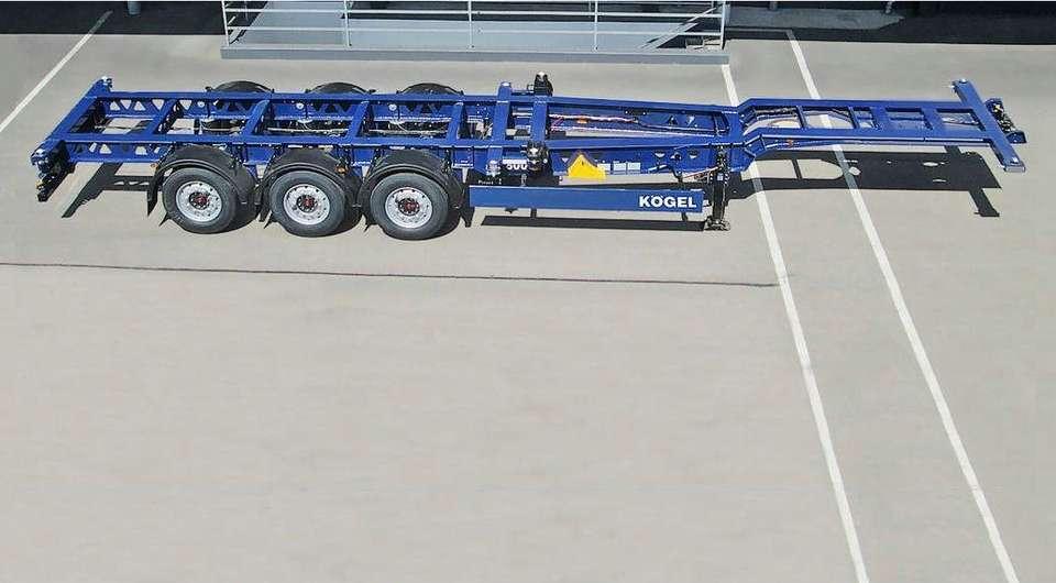 Kogel: суперлегкий контейнеровоз