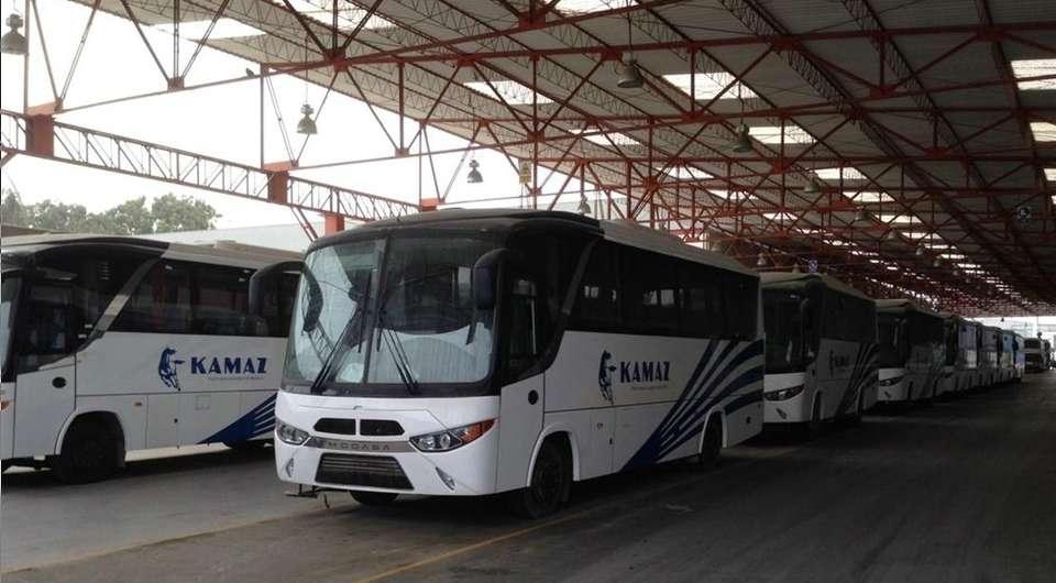 Перуанские автобусы на камских шасси