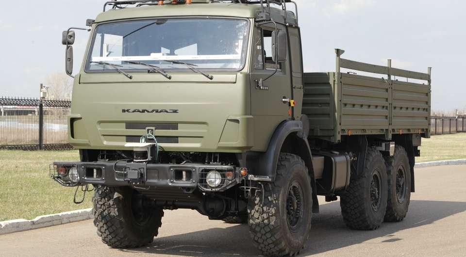 КАМАЗ-беспилотник: апробация в условиях полигона