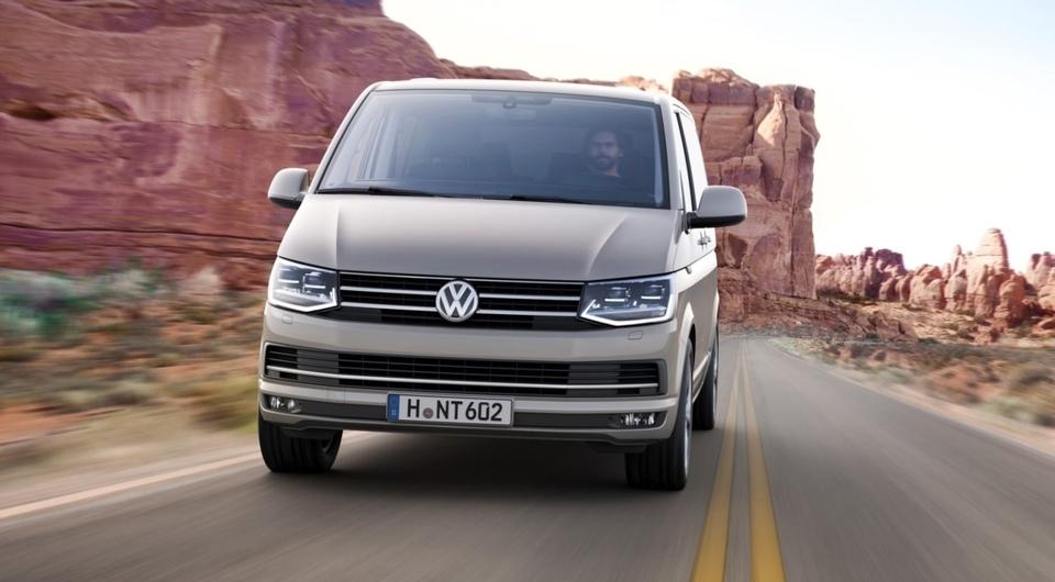 Volkswagen: комтранс идет в рост
