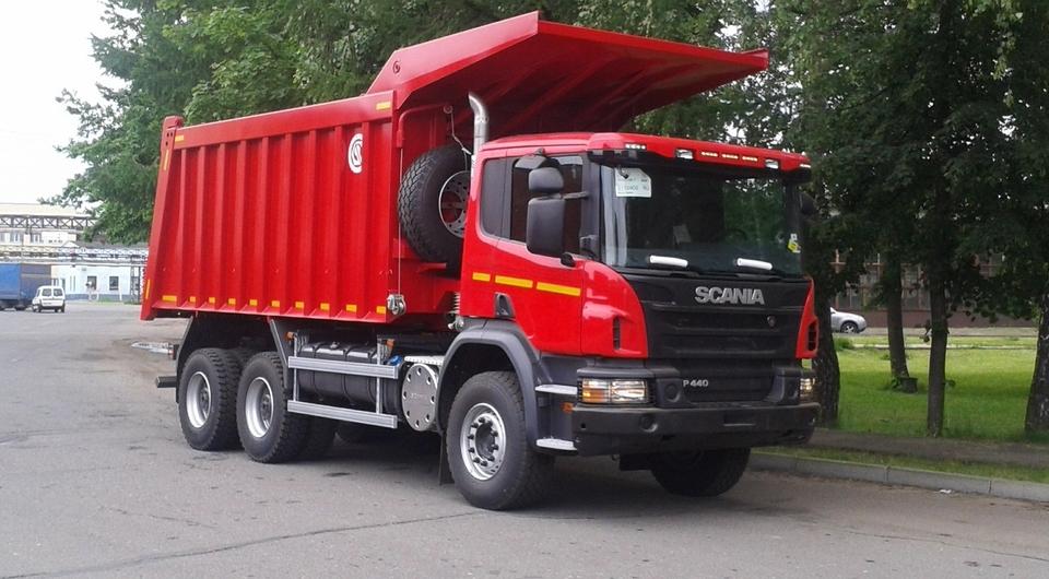 Scania. Углевозы показали в Новокузнецке