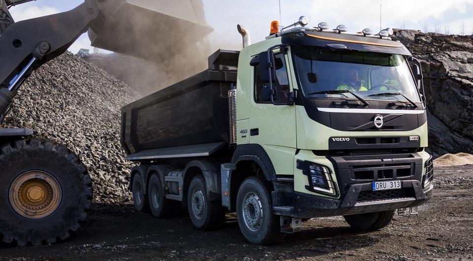 Volvo Trucks. Пять новшеств для строительной автотехники