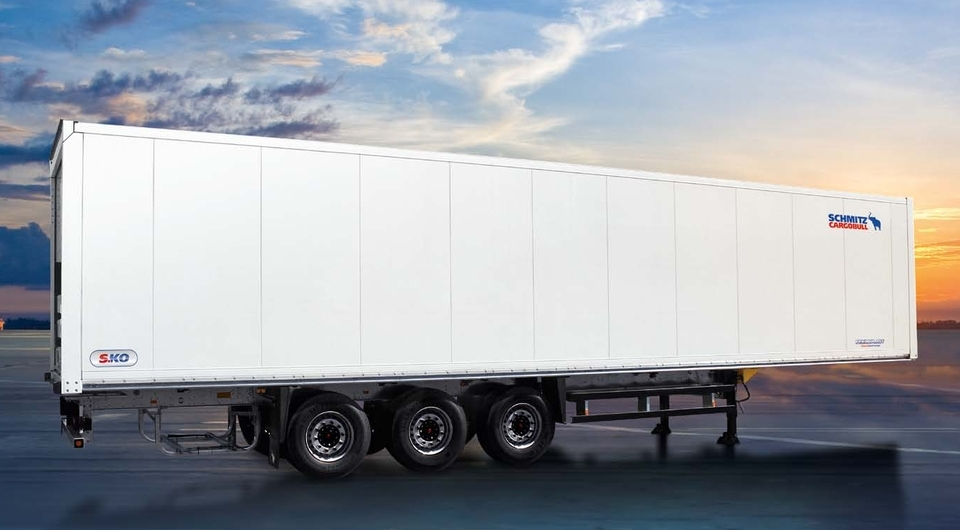 Schmitz Cargobull. Шинный сервис