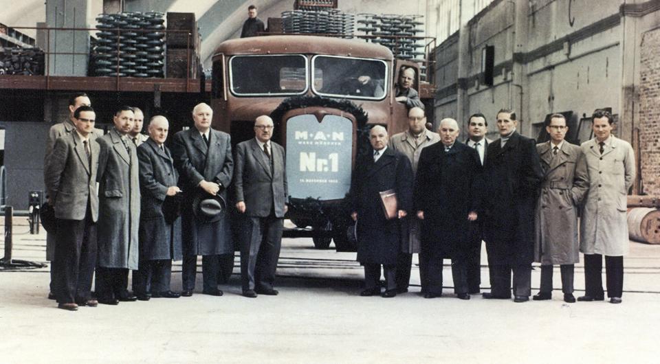 MAN. Юбилей мюнхенского завода