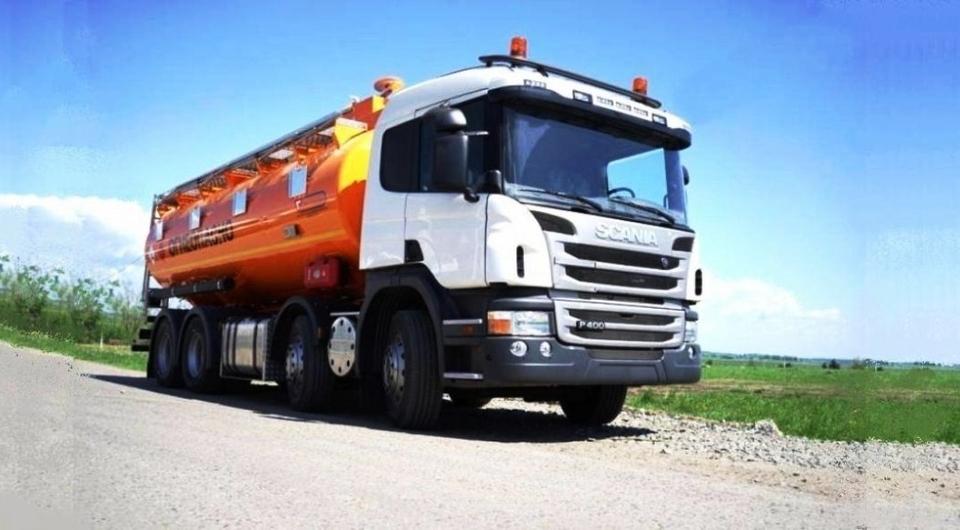 «Сеспель»: новая автоцистерна на шасси Scania 8x4