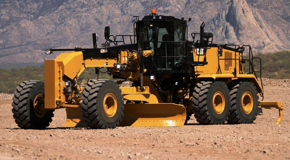 CAT 16M3. Новый тяжелый грейдер