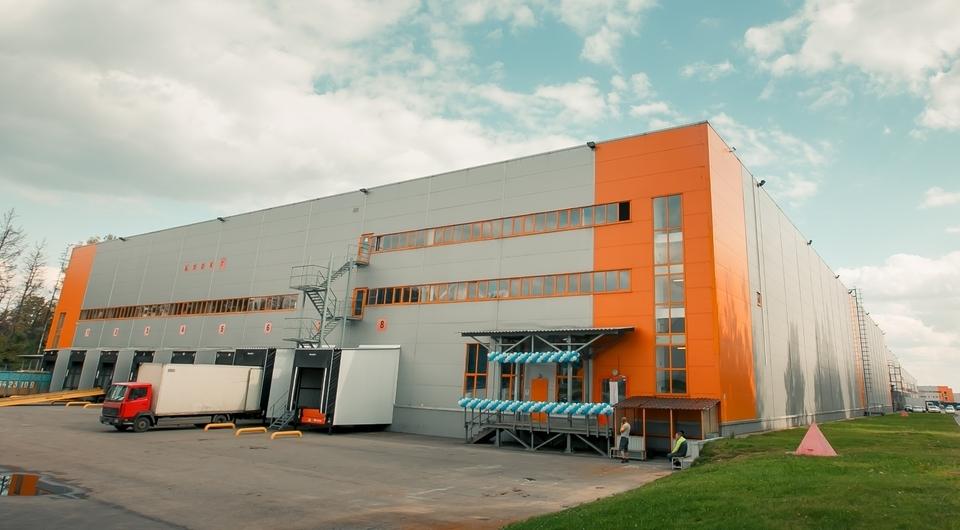 Volvo Group. Новый склад в Московской области