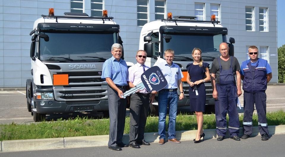 Scania: тягачи для ООО «Калининграднефтепродукт»