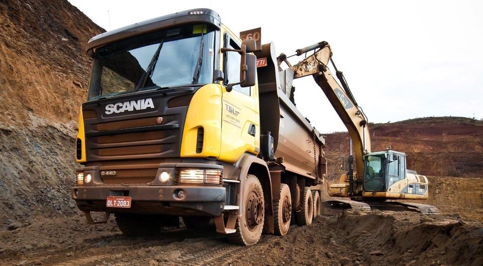 Scania в Германии: покорение строительного сегмента