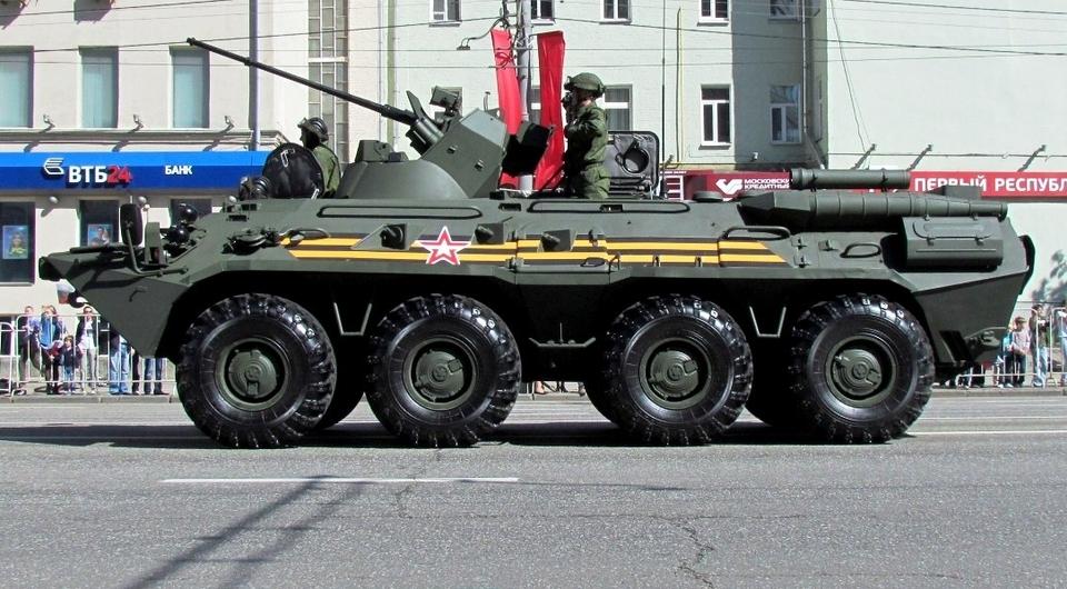 БТР-82А будут поставлены в Белоруссию