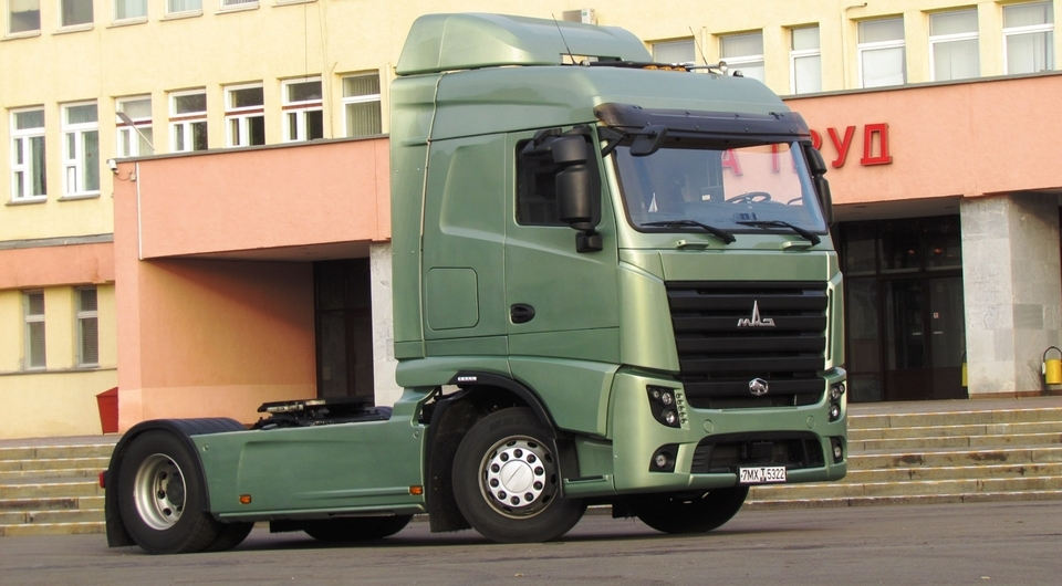 МАЗ-5440М9 на пути к получению Одобрения Типа