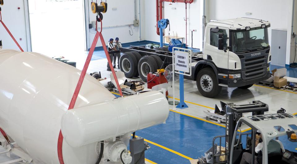 Scania. Первая очередь нового сервиса
