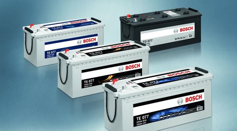 Bosch TE: новые АКБ с технологией EFB