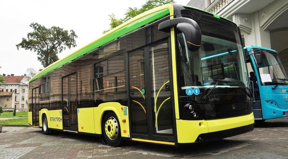 Львов получил первый в Украине электробус