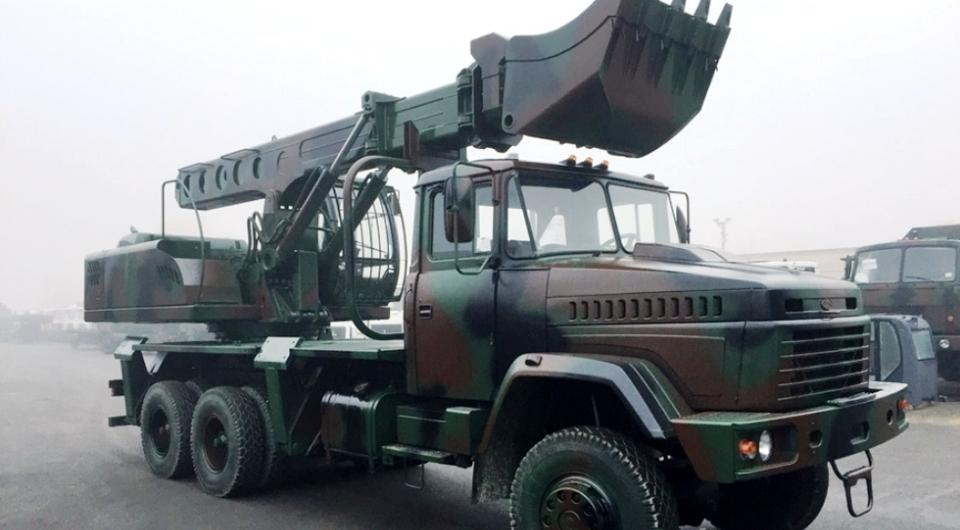 КрАЗ-6322 как шасси для UDS-114