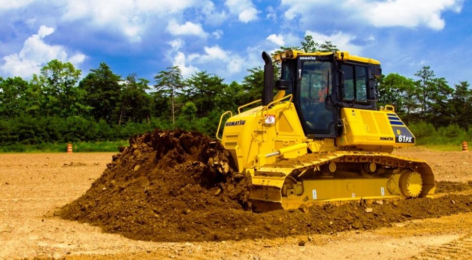 Komatsu. Новое поколение 18-тонных бульдозеров