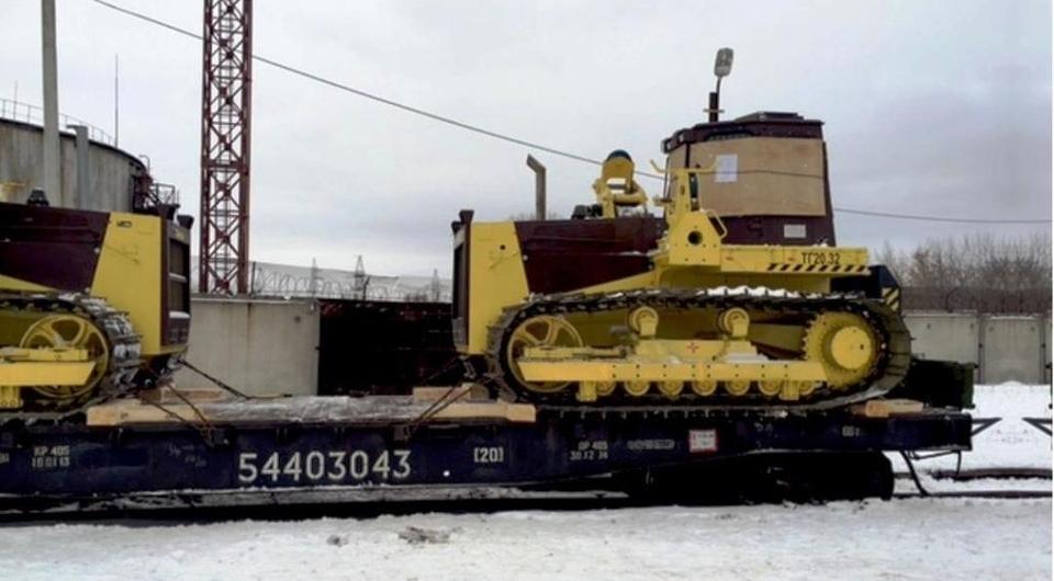 Трубоукладчики ДСТ-Урал строят трубопровод