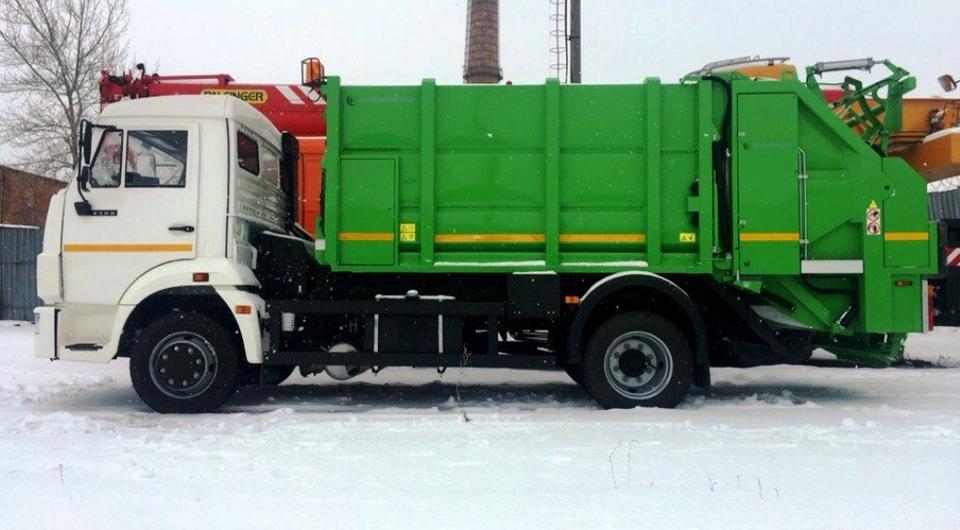 ТЗА начал производство новых мусоровозов