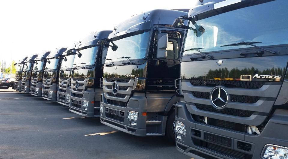 Mercedes-Benz для «Деловых линий»