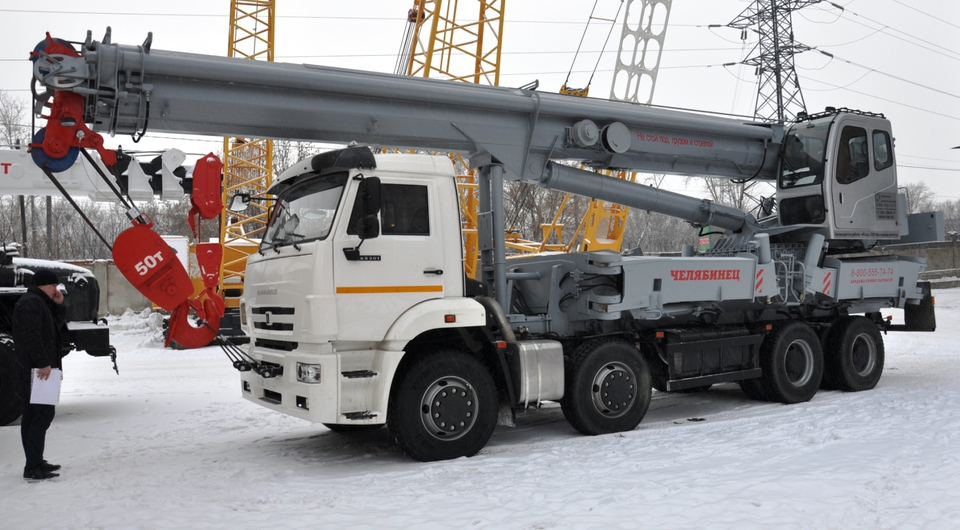 50-тонные «Челябинцы» отправлены заказчику