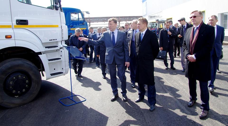 «Газпром» ждет от КАМАЗа новых поставок